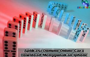Aplikasi Domino Online
