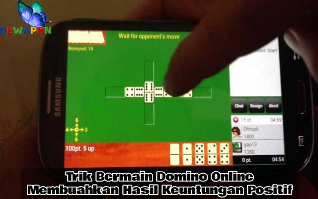 Trik Main Domino